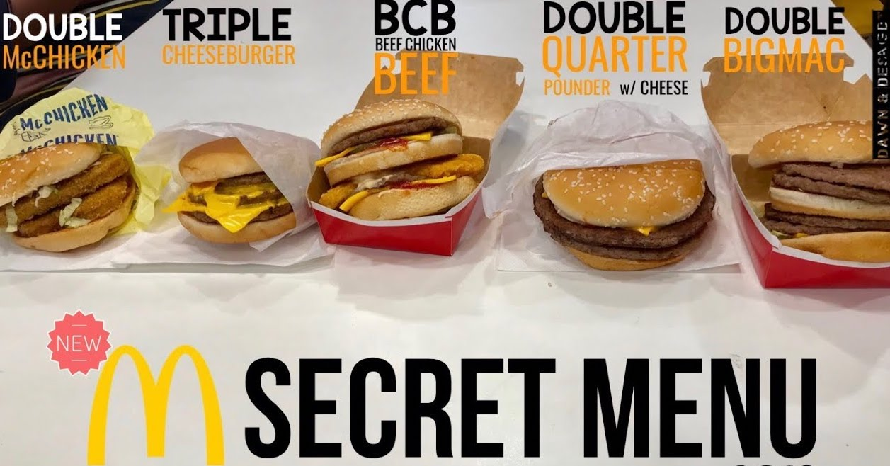 The Best McDonald's Secret Menu Items You Need To Order!