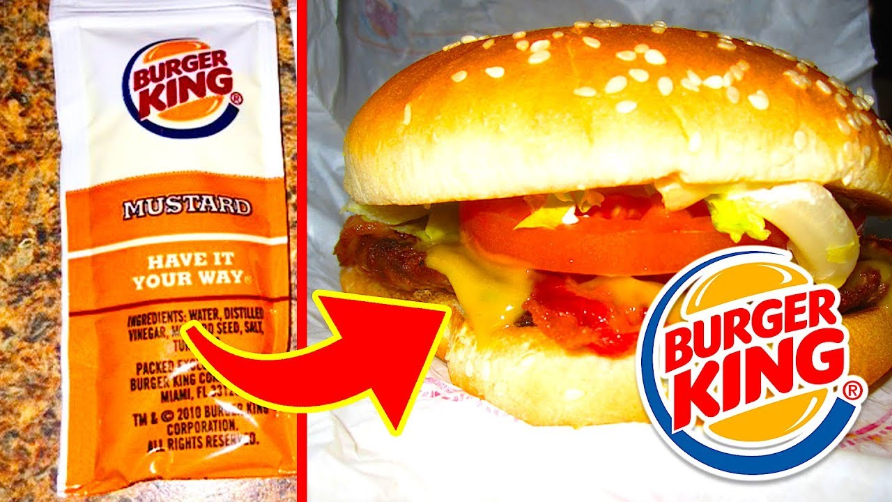 The Full List Of Burger King Secret Menu Items You May Order!!