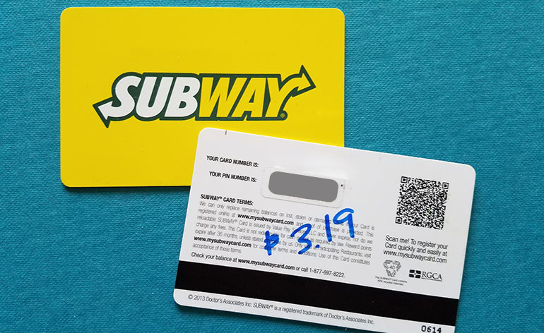 How To Check Subway Gift Card Balance At Mysubwaycard.com - Complete Step By Step Process