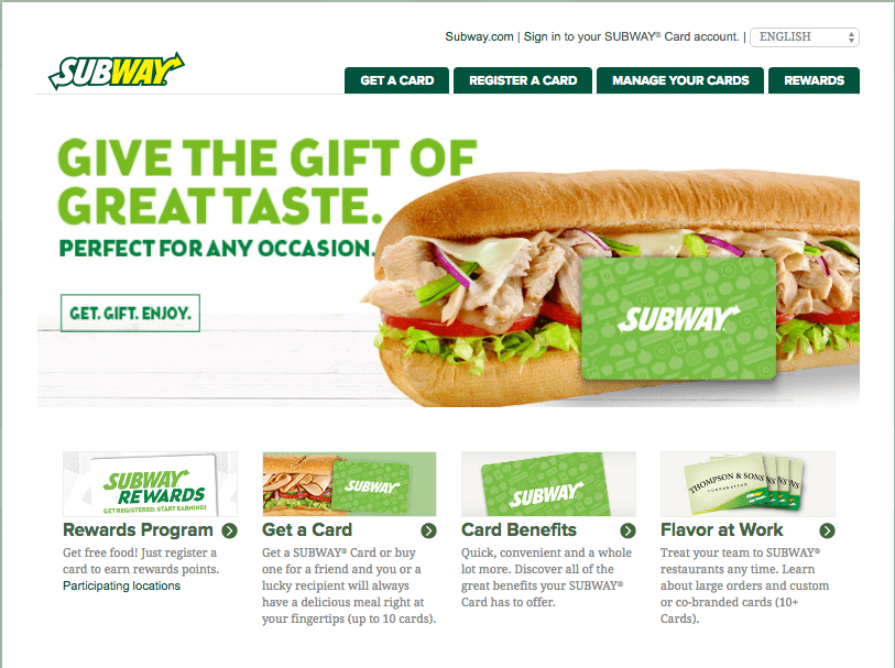 How To Manage Your Subway Card At Mysubwaycard.com To Get Online Benefits
